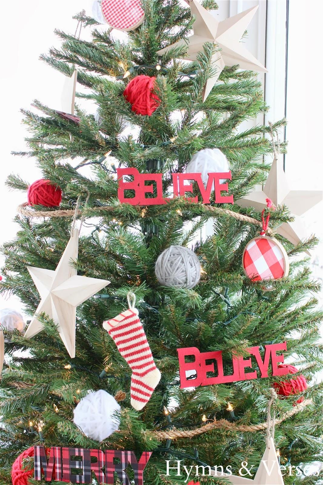 Back Porch Tree Ornaments