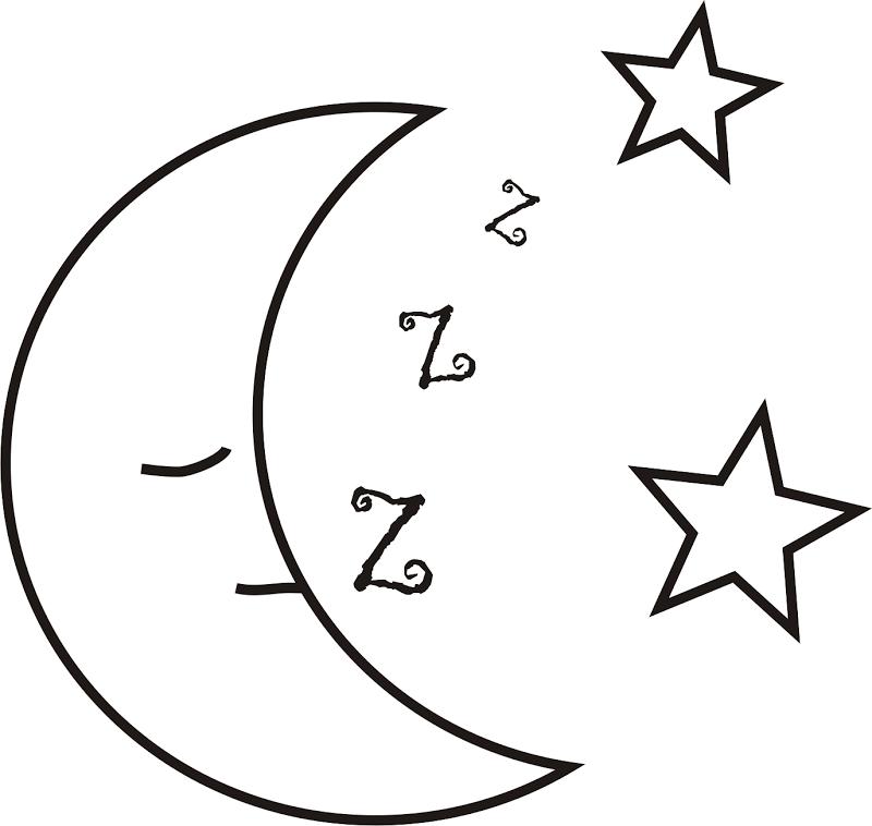 Imagens para pintura e patchwork de estrela, sol e lua