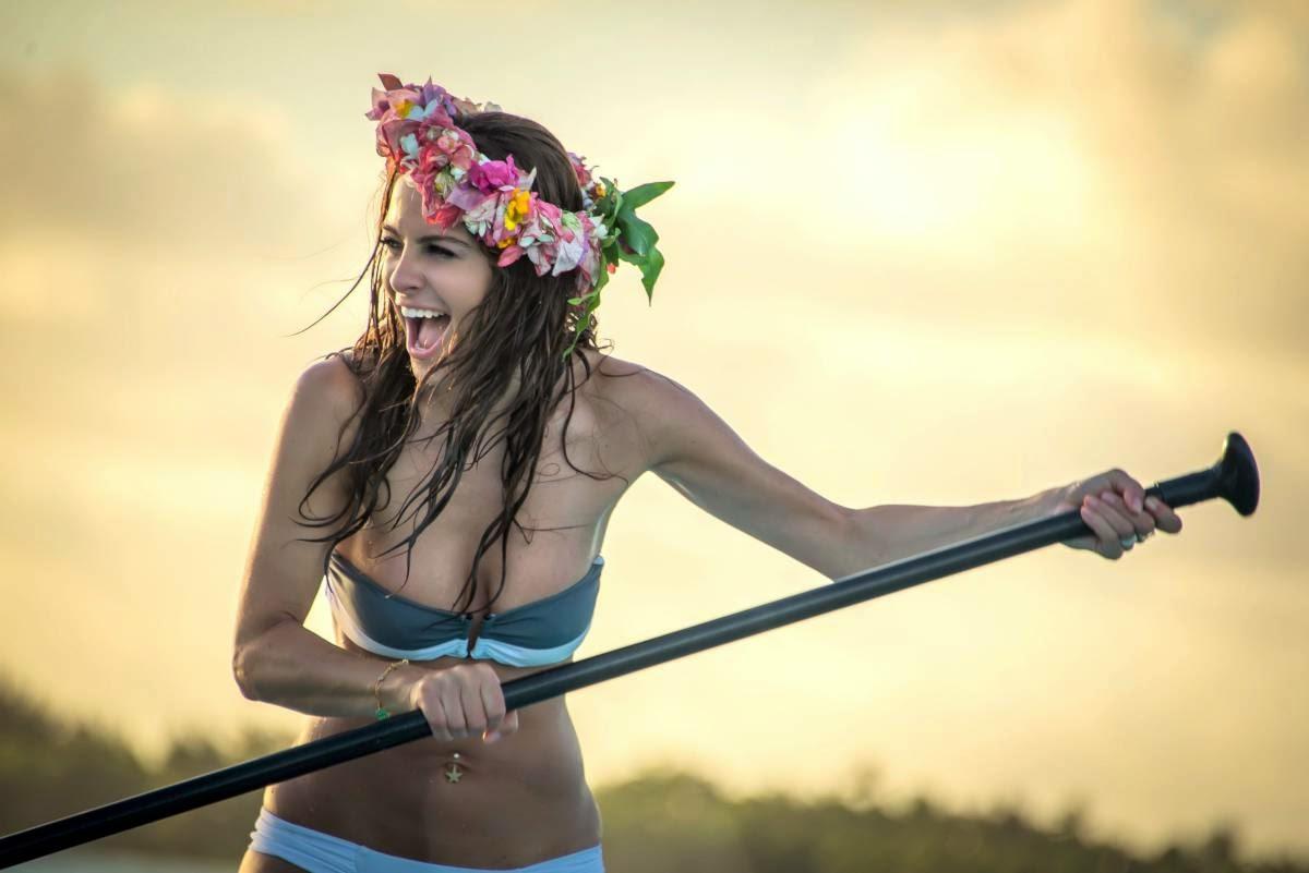 Maria Menounos Bikini Candids in Bora Bora