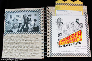 This and That Journal / Smash Book Page by Stampin' Up! Demonstrator Bekka Prideaux - check out some of the cool things she has done with her journal