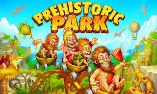 Screenshots of the Prehistoric Park Builder for Android tablet, phone.