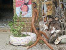 Drift Wood Art Arrangement Far End Bar