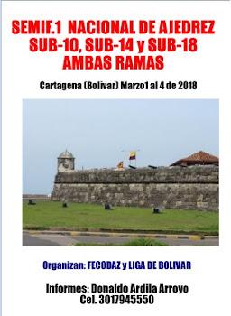 Campeonato Semifinal 1 Sub-10, 14 y 18 Ambas Ramas 2018 (Dar clic a la imagen)