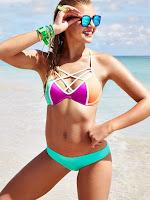 Rachel Hilbert hot Victoria's Secret sexy bikini models photo shoot