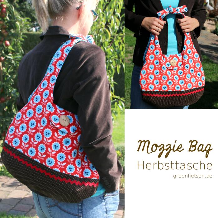 Mozzie Bag - aus Cord und mit Verschlusslasche eine tolle Herbsttasche