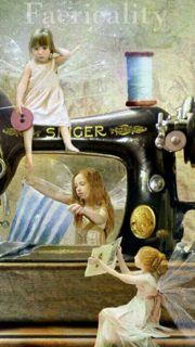 Singer stitching fairies!