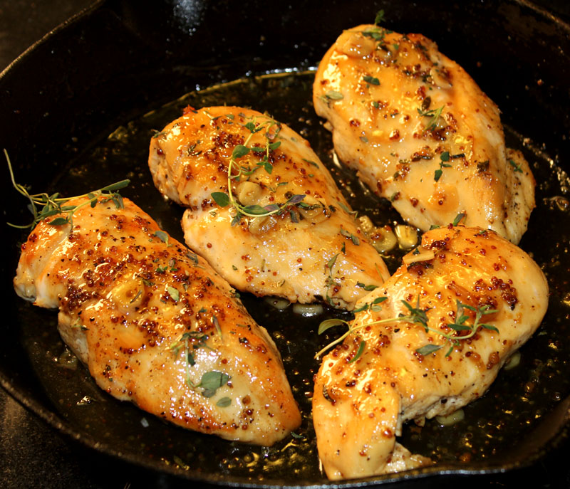 Maple-Mustard Glazed Chicken - Lake Lure Cottage KitchenLake Lure ...