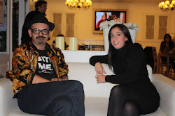 With Jose Castro Fashion Designer