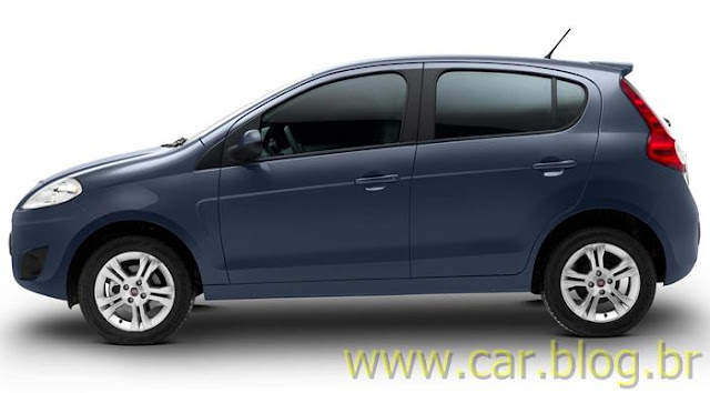 Novo Palio Attractive 1.4 2012 - lateral