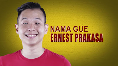 Biodata Lengkap Ernest Prakasa Pemeran Film Ngenest