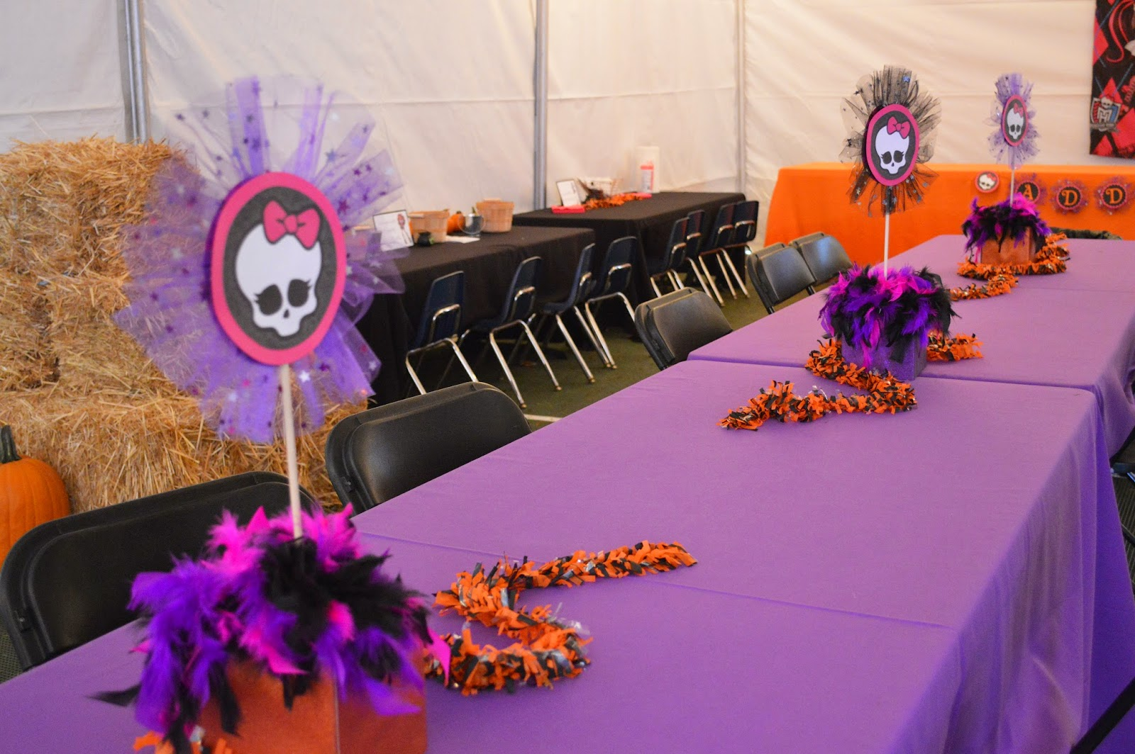 Sweet & Petite Party Designs: Monster High Carnival Birthday Party!