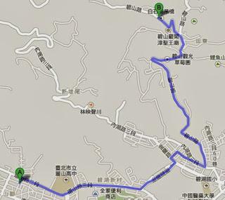 台北後山地圖