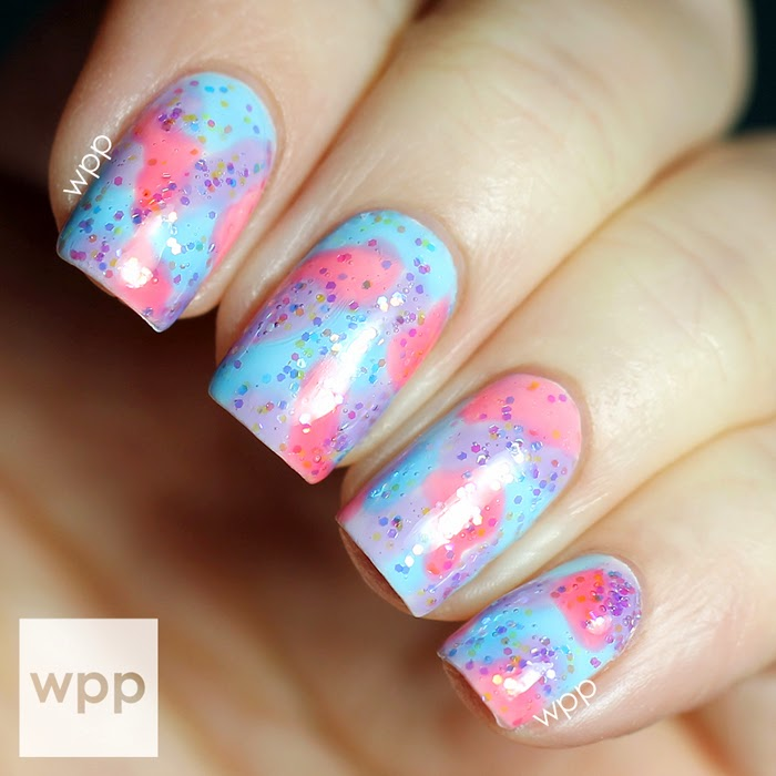Pure Ice New Year, New Hue Collection Jelly Watercolor Nail Art ...