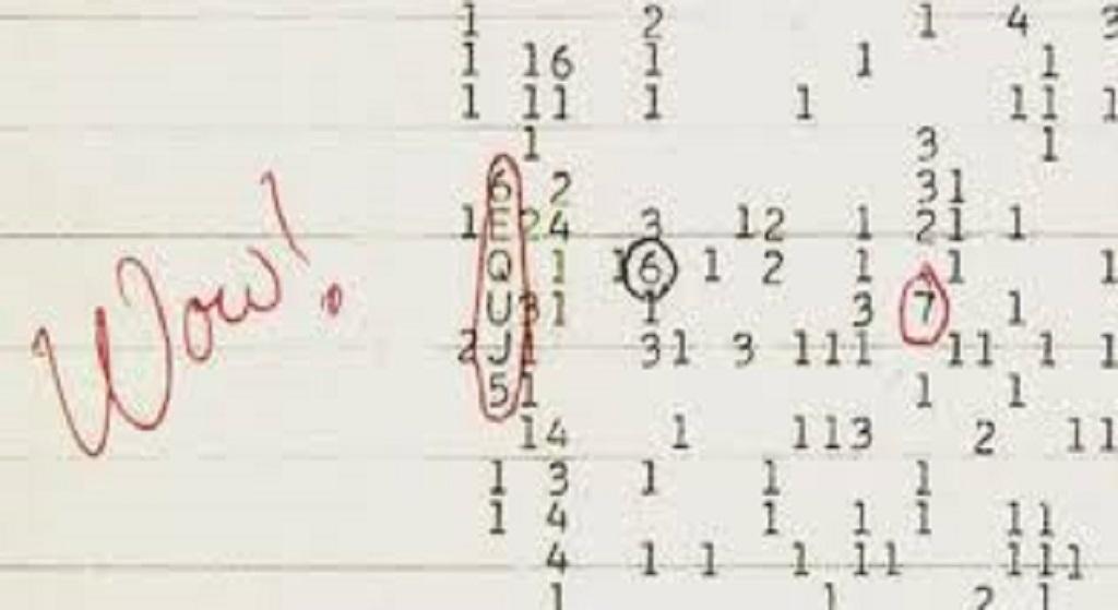 1977 Año en el que contactamos con inteligencias extraterrestres