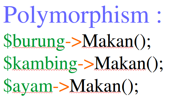 Tutorial PHP OOP Part 25 : Memahami konsep Polymorphism
