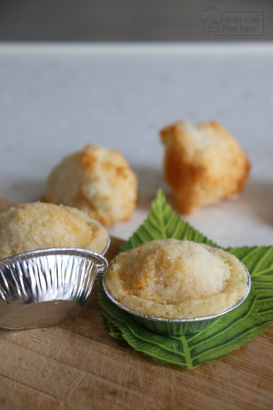 Andre's the Home Baker: ♥ Easy Coconut Macaroon Tart
