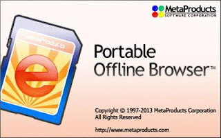 MetaProducts Portable Offline Browser