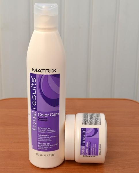 Матрикс для окрашенных волос маска отзывы