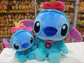 (INSTOCK) 40cm SG Disney Stitch as Scrump Plush