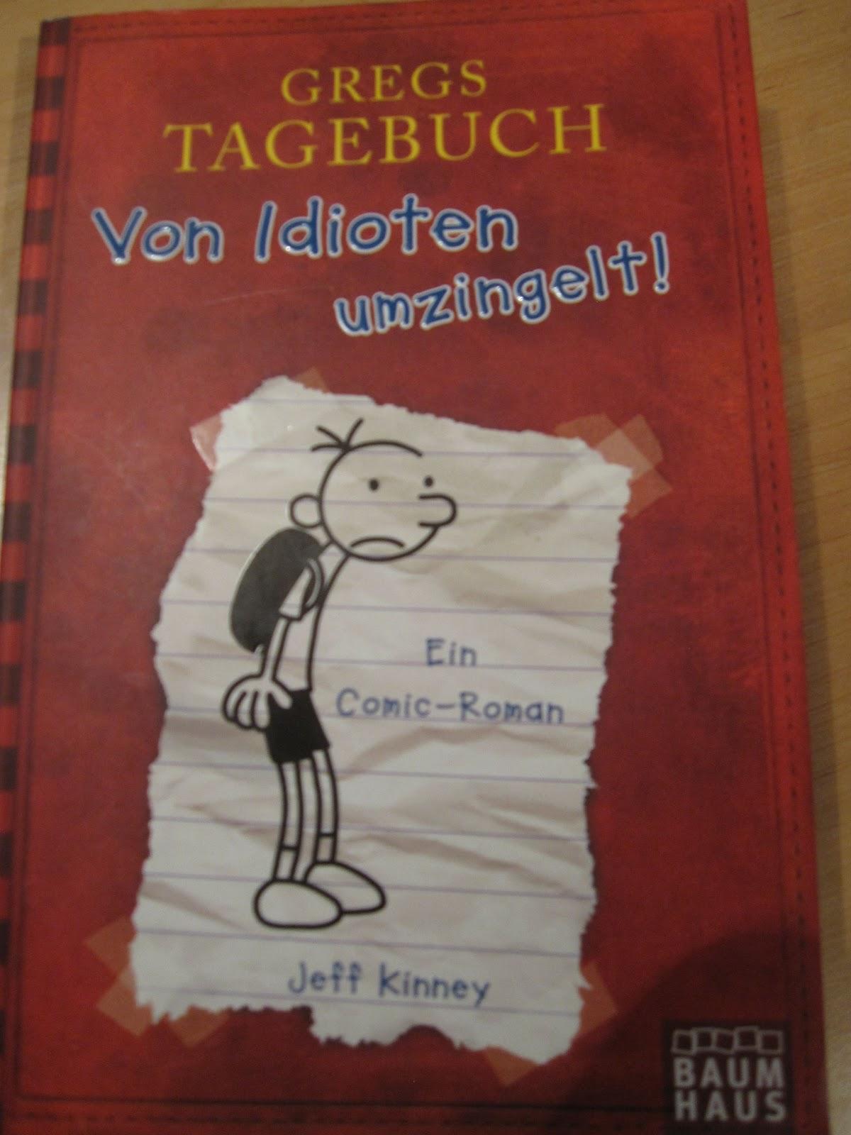 Buchempfehlungen von Reinhard Bayer: Gregs Tagebuch Von Idioten ...