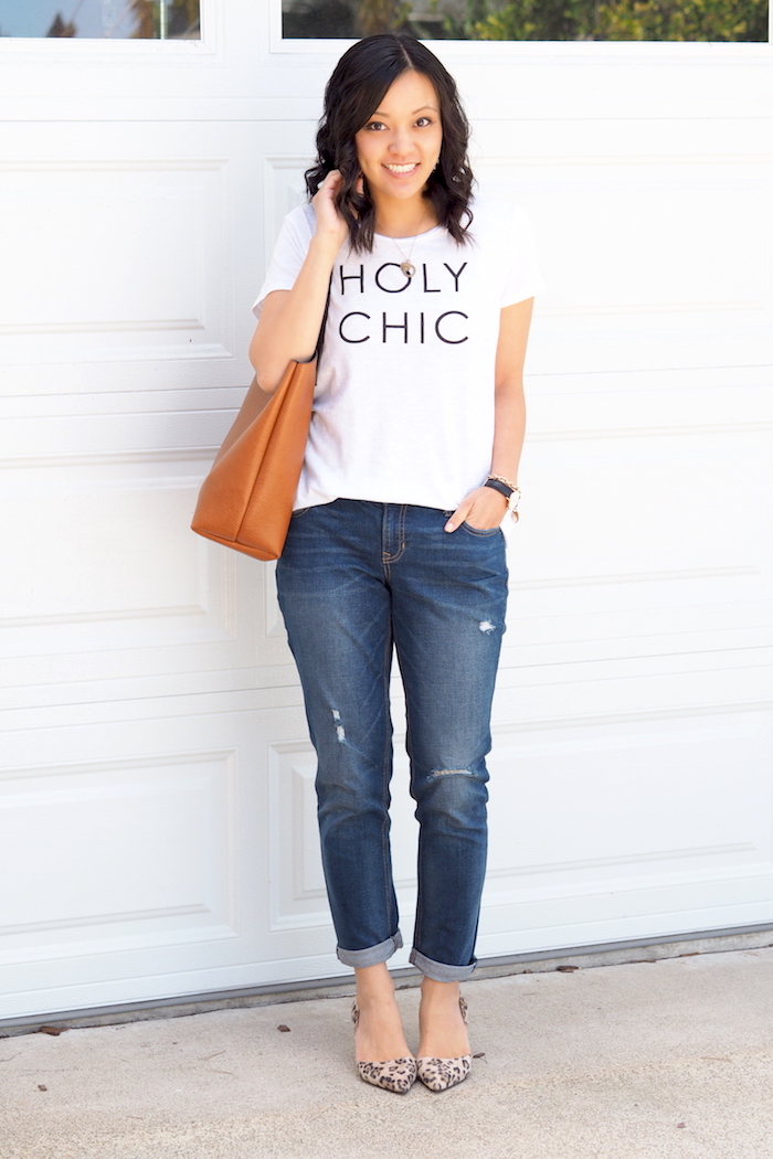 Putting Me Together: Casually Dressed Up Boyfriend Jeans   My 40 ...