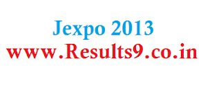 Download JEXPO 2013 examination Rejected Candidates list