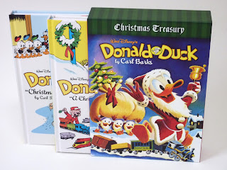 slipcase of the two-book Donald Duck treasury gift set published by Fantagraphics