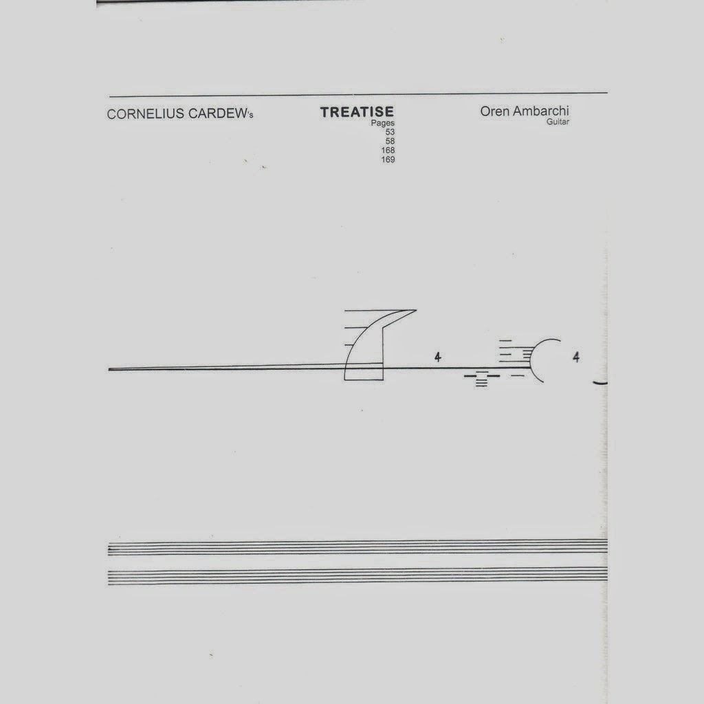 Cornelius Cardew We Only Want The Earth