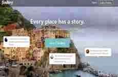 Findery: aplicación para publicar notas de forma geolocalizada