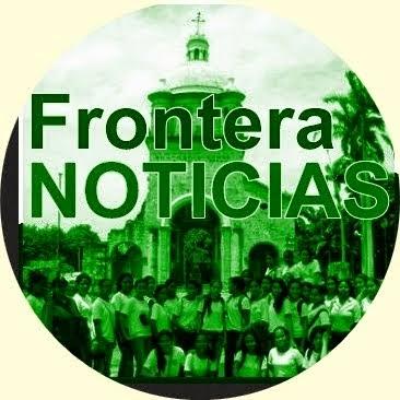 Logo de FronteraNOTICIAS creado por su ideologo Félix Helí Contreras Martínez, fundelsur@gmail.com, cel: 312-3598024 Colombia