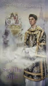 Cartel Semana Santa de Sevilla 2014