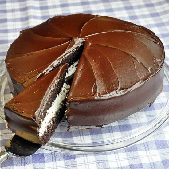 Chocolate Marshmallow Jos Louis Cake