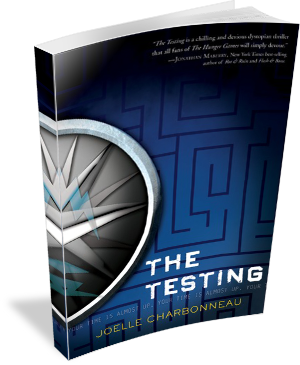 Book Cover: The Testing by Joelle Charbonneau