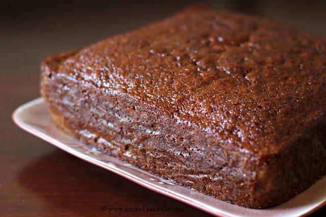 Ruchik Randhap (Delicious Cooking): Ginger Cake ~ Ultra Moist!