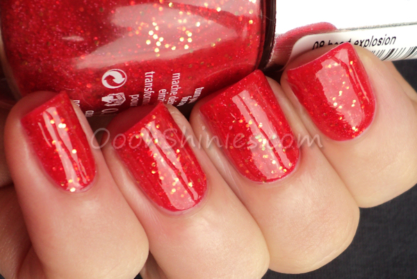 Essence Heart Explosion with top coat