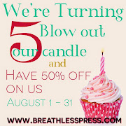 Breathless Press Turns 5!!
