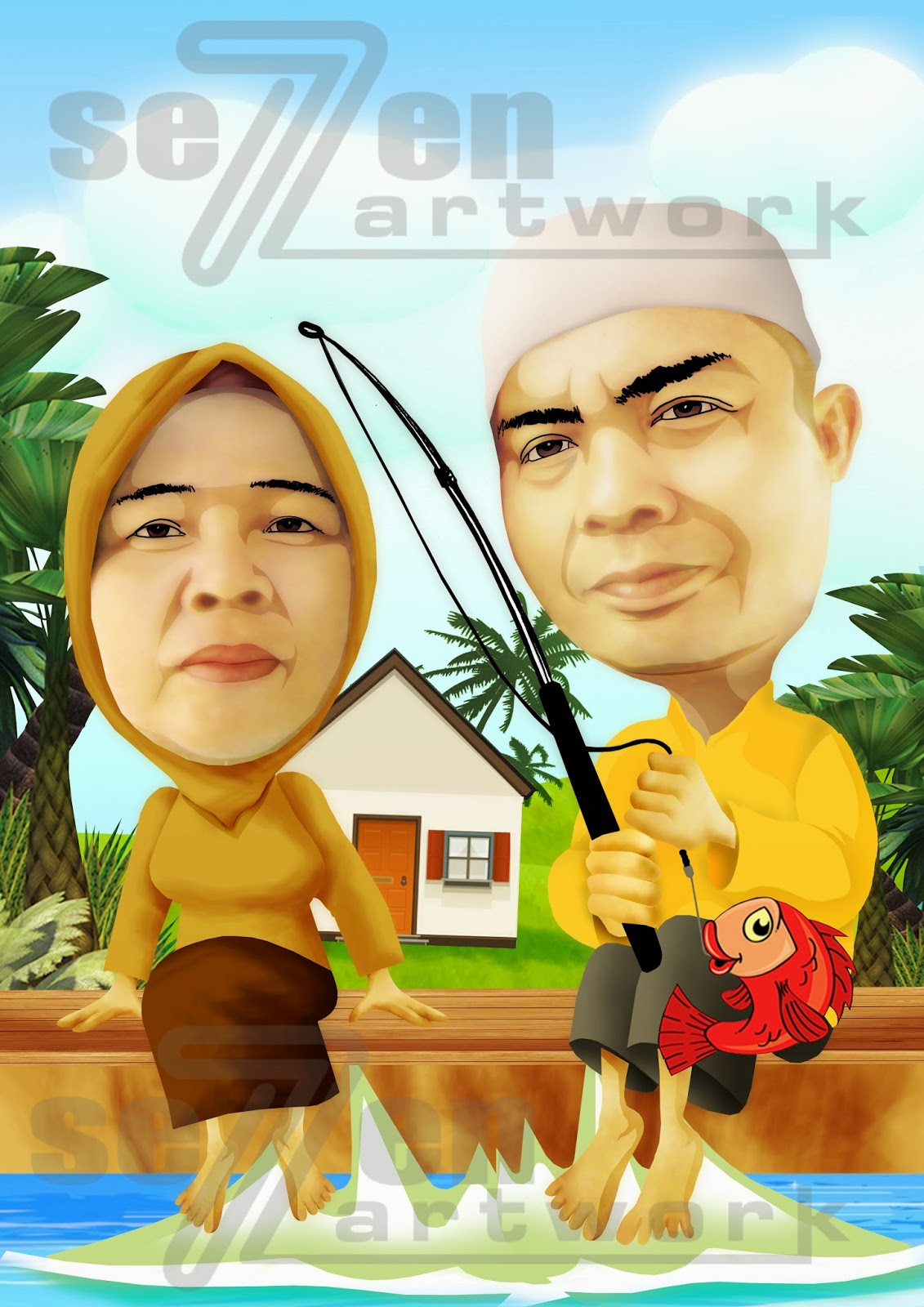 SEVENARTWORK CARTOON