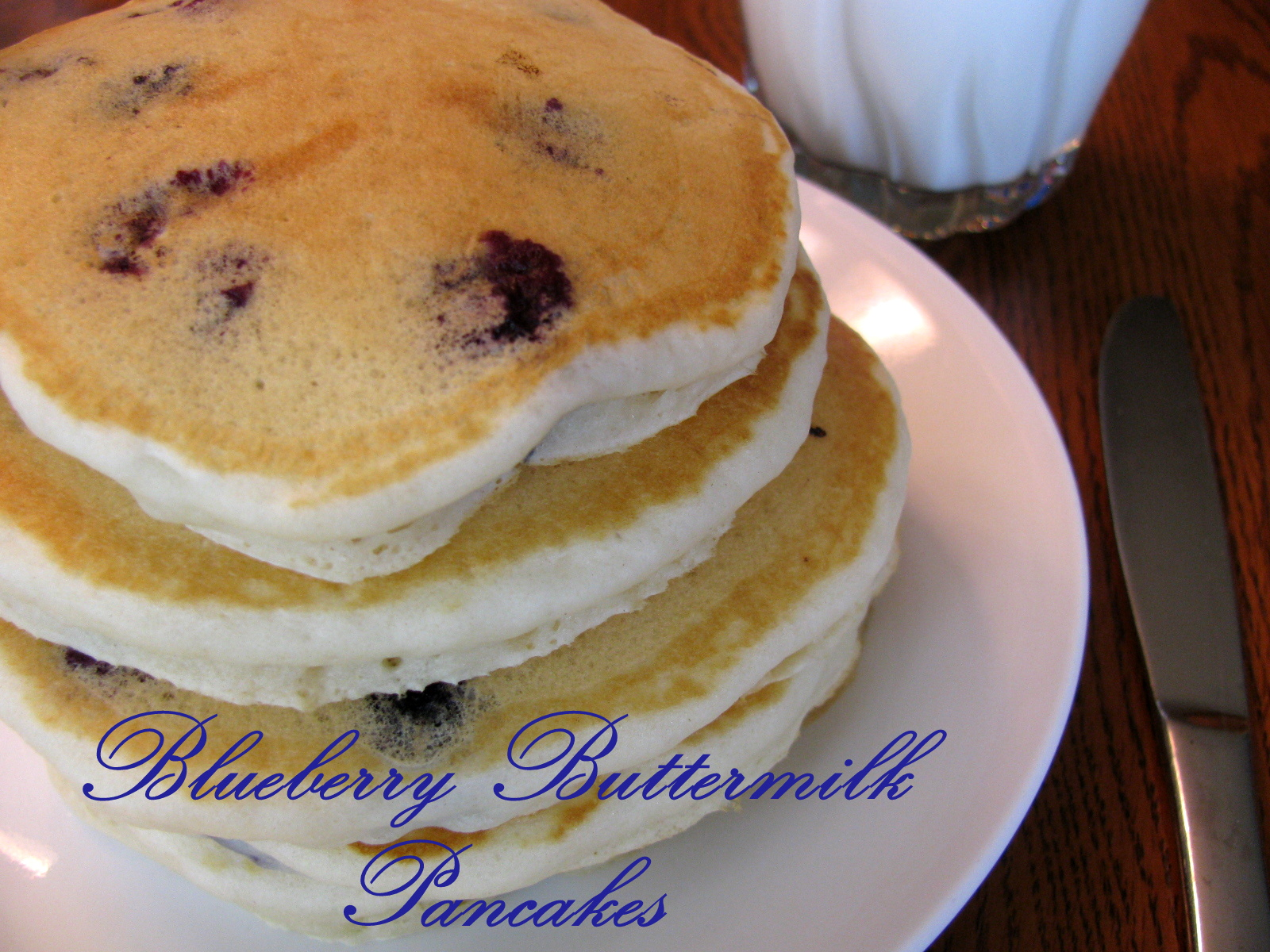 Blueberry Buttermilk Pancakes | Family Heritage Recipes