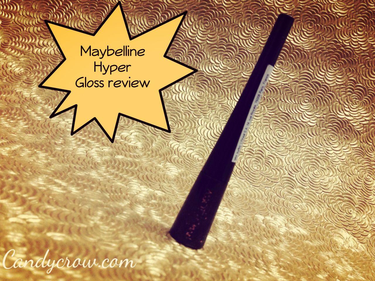 Maybelline Hyper Glossy Liquid Eyeliner - Black Review