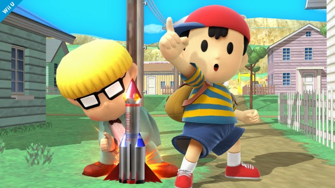 ness earthbound mother 2 3 super smash brothers bros wii u nintendo