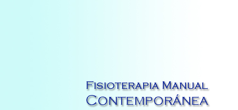fisioterapia manual contemporanea