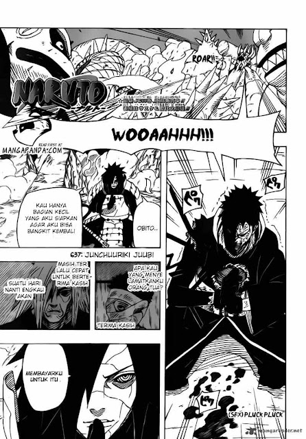 "Download Komik Naruto Chapter 637 ""Jinchuriki Juubi"" Bahasa Indonesia"