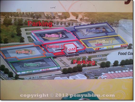 peta GM Klang