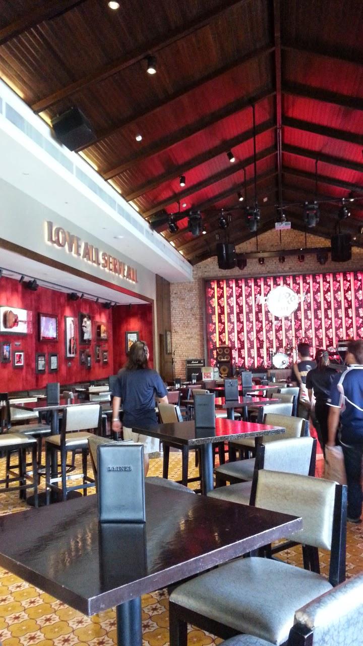 Harga Menu Hard Rock Cafe Melaka