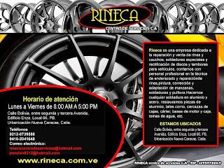 Las Paginas Amarillas.Net -  RINECA CENTRO DE SERVICIO C.A