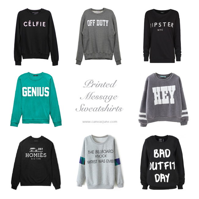 sweatshirts, printed letters, sweatshirt with letters, printed message sweatshirt, blogger favorite sweatshirt, off duty sweatshirt, celfie sweater shirt, meow sweatshirt, hipster sweatshirt, hey sweatshirt, homies sweatshirt, gray letter sweatshirt
