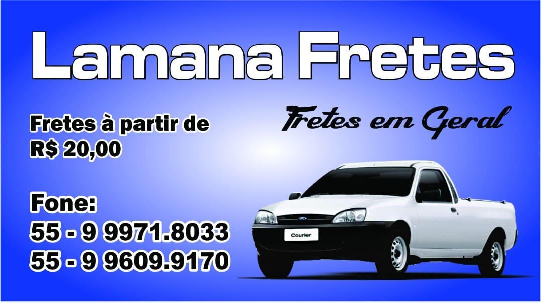 LAMANA FRETES EM SANTIAGO