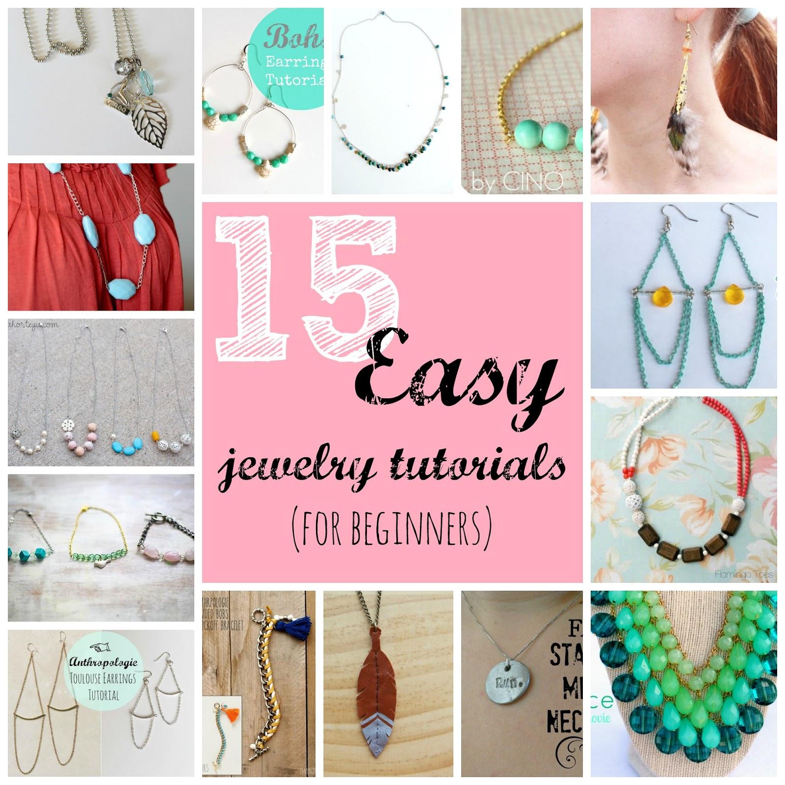 jewelry tutorials for beginners