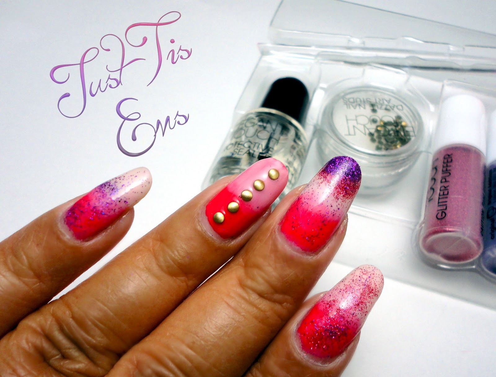 Just Tis Ems: Review: Elegant Touch Nail Art Kit in Rosalia