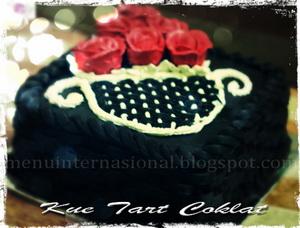 Kue Tart Coklat Ulang Tahun